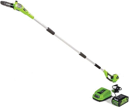 1 Greenworks 8 5' 40V Cordless Pole Saw, 2 0 AH Battery Included 20672