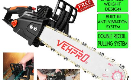 Tree Trimmer Pole Saw Electric Chainsaw Pruner 16 In Chain 2888 FPM 15-Amp 1800W