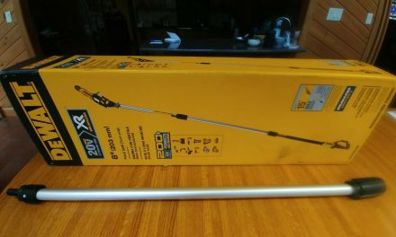 DeWalt DCPS620 DCPS620B 20V MAX XR Pole Saw NEW EXTENSION SECTION ONLY