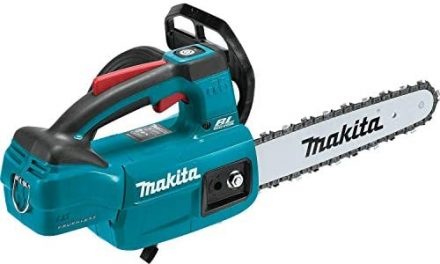 Makita XCU06Z LXT Lithium-Ion Brushless Cordless 10″ Top Handle Chain Saw, Tool Only,Teal