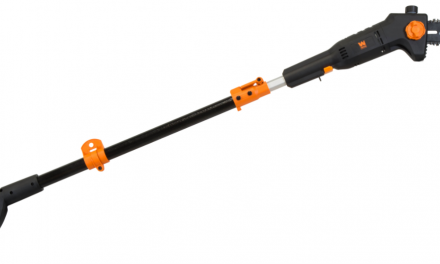Tree Trimmer Pole Saw Electric Chainsaw Pruner 5-7′ Telescoping 12′ Branch Reach