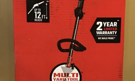 Craftsman P210 10 in. 25cc 2-Cycle Gas Pole Saw, 7 ft. Pole, up to 12 ft. Reach