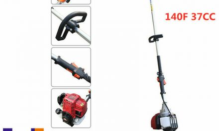 37cc 4 Stroke Gas Powered Pole Saw Chainsaws Tree Trimming/Pruning Cutting Tools